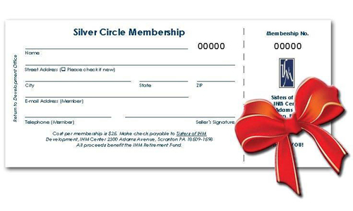 Support the IHM Sisters! Give the gift of a Silver Circle!