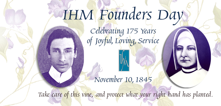 Celebrating our 175th Anniversary as Sisters of IHM