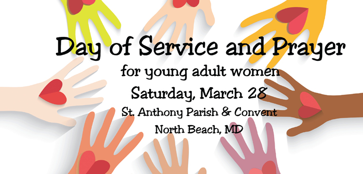 Day of Service and Prayer for Young Adult Women
