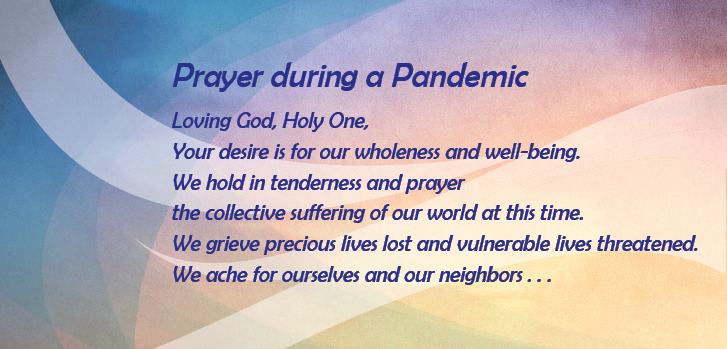 Join the Sisters of IHM in prayer during this pandemic
