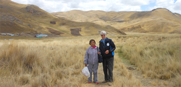 Meet Sister Ancilla Maloney serving in Sicuani, Peru