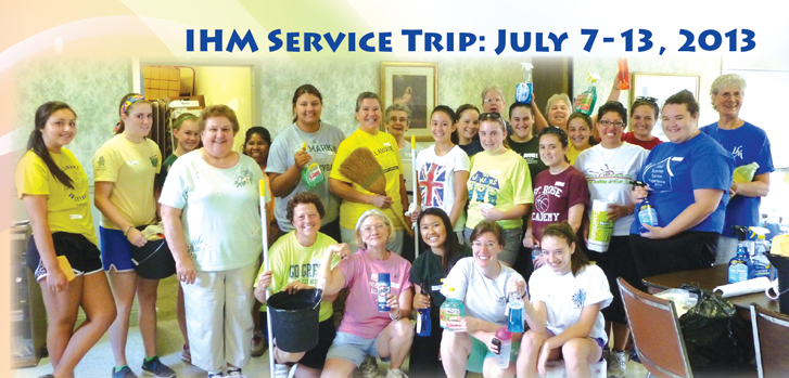 Join the 2013 IHM Service Trip