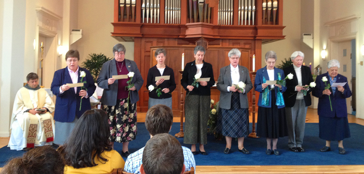 IHM Sisters Renew Vows