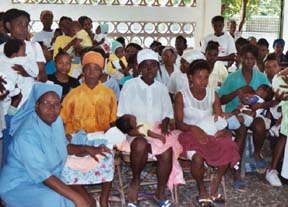 Women and sisters in Haiti