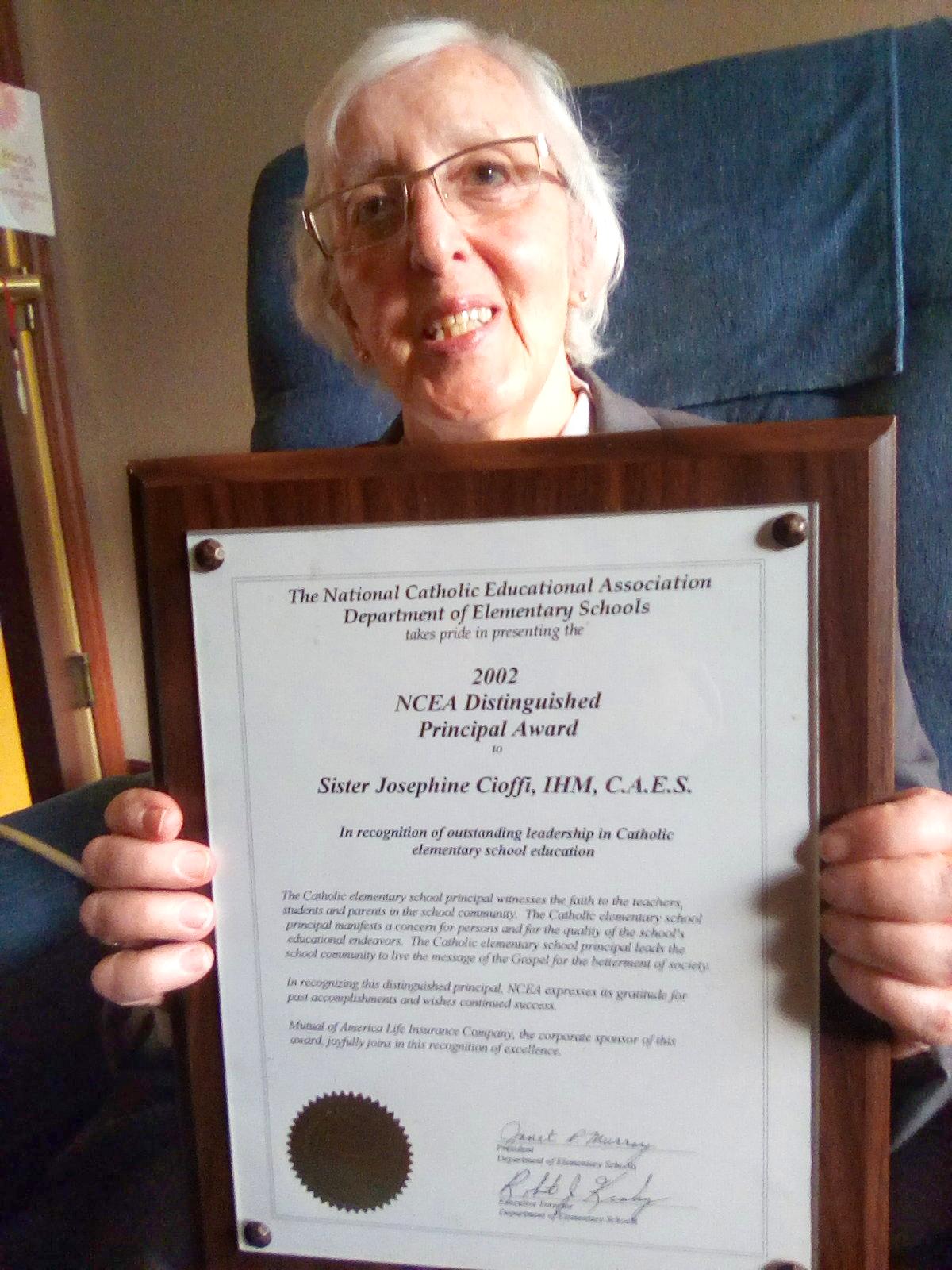 Cioffi ncea award