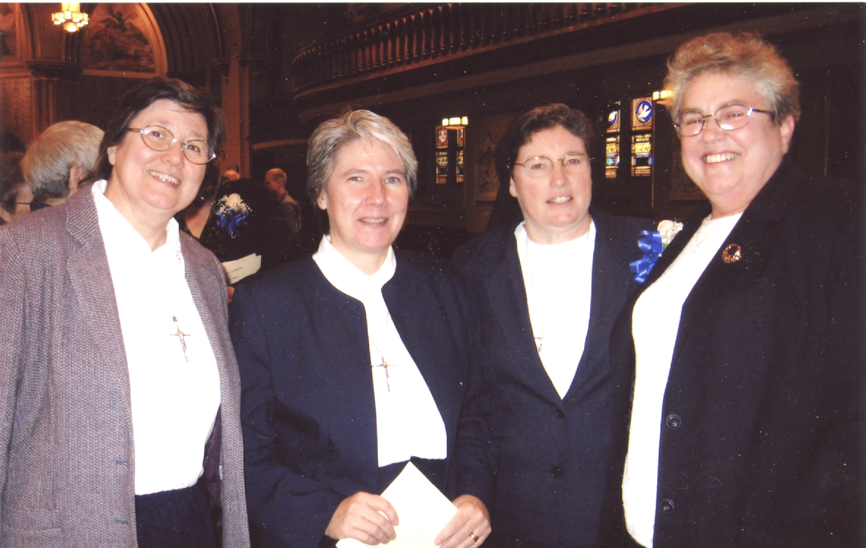 Claire Kulp and Immaculata Sisters-Silver Jubilee